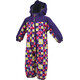 Color Kids Karlo Mini Padded Coverall Kids Violet Indigo